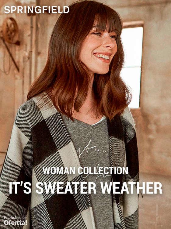 Ofertas de Springfield, It's sweater weather. Woman Collection