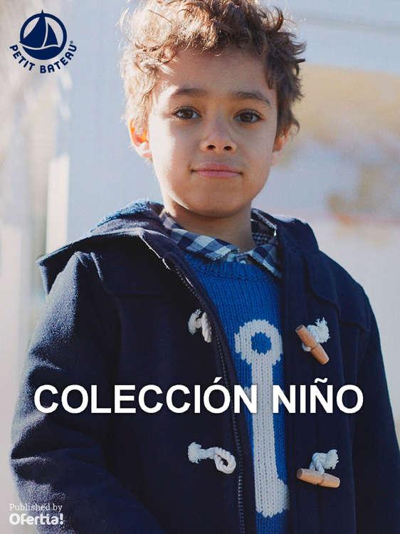 Ofertas de Petit Bateau, Colección Niño