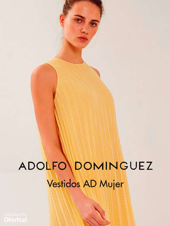 Ofertas de Adolfo Domínguez, Vestidos AD Mujer