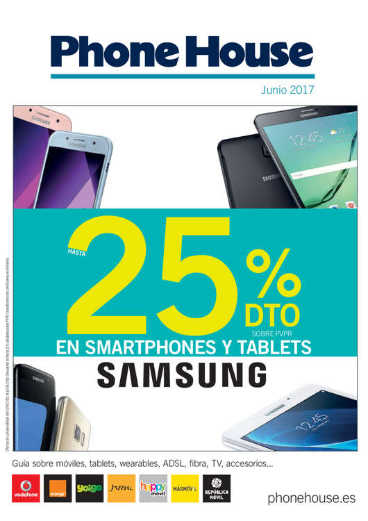 Ofertas de Phone House, Hasta 25% dto.