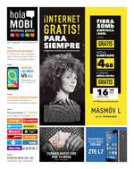 Ofertas de HolaMOBI, ¡Internet gratis! Para siempre