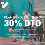 Ofertas de Intersport, Plan Renove Running 30% dto