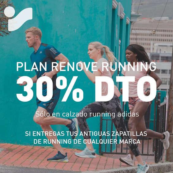 Ofertas de Intersport, Plan Renove Running 30% dto