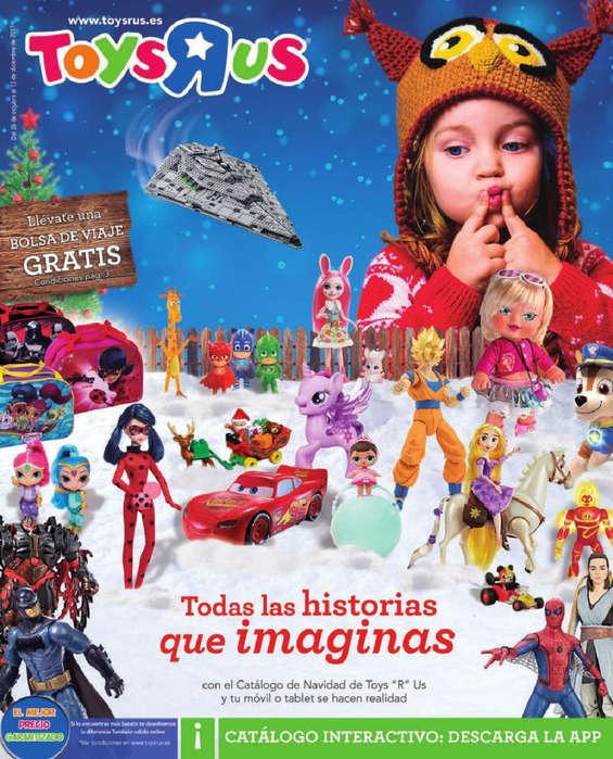 """Ofertas de Toys """"R"""" Us, Todas las historias que imaginas"""