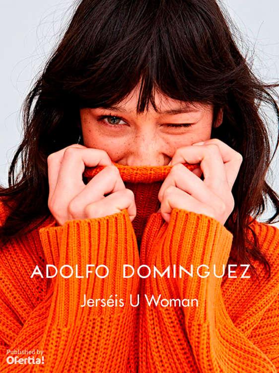 Ofertas de Adolfo Domínguez, Jerséis U Woman