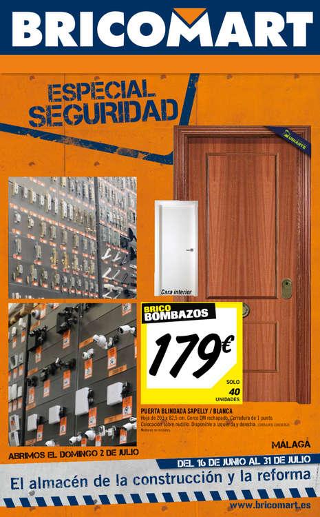 Ofertas de Bricomart, Especial seguridad - Málaga