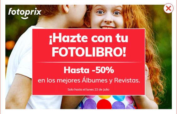 Ofertas de Fotoprix, ¡Házte con tu fotolibro!