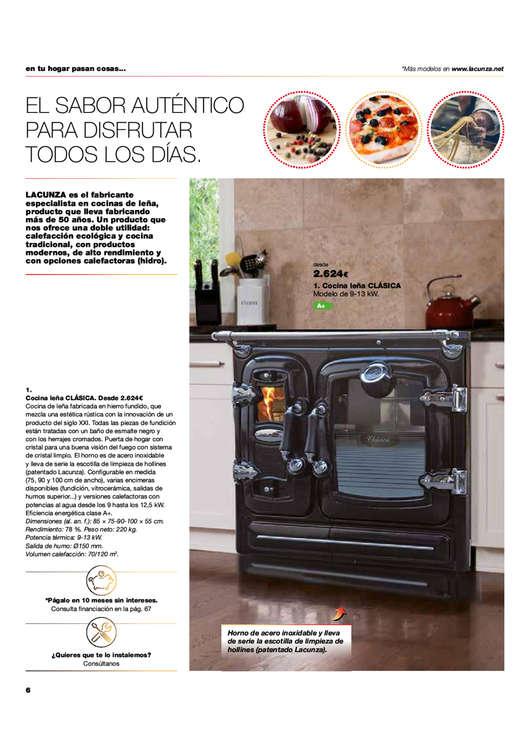 Ofertas de Gamma, Catálogo calor Español 2018-19