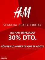Ofertas de H&M, Semana Black Friday ¡Ya han empezado!