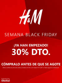 Semana Black Friday ¡Ya han empezado!