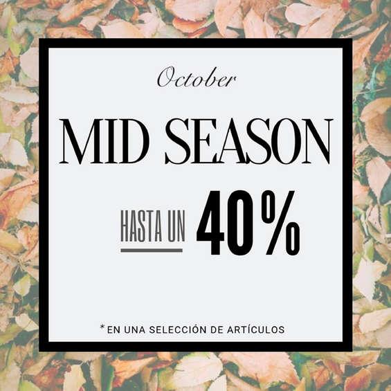 Ofertas de October, Mid Season hasta un 40%