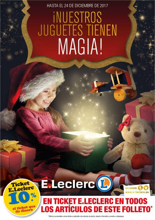 Ofertas de E. Leclerc, ¡Nuestros juguetes tienen magia!