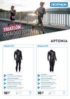 Ofertas de Decathlon, Triatlón. Catálogo 2019