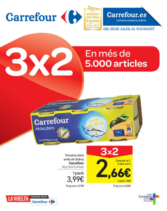 Carrefour reus cat logo ofertas y folletos ofertia - Ofertia folleto carrefour ...