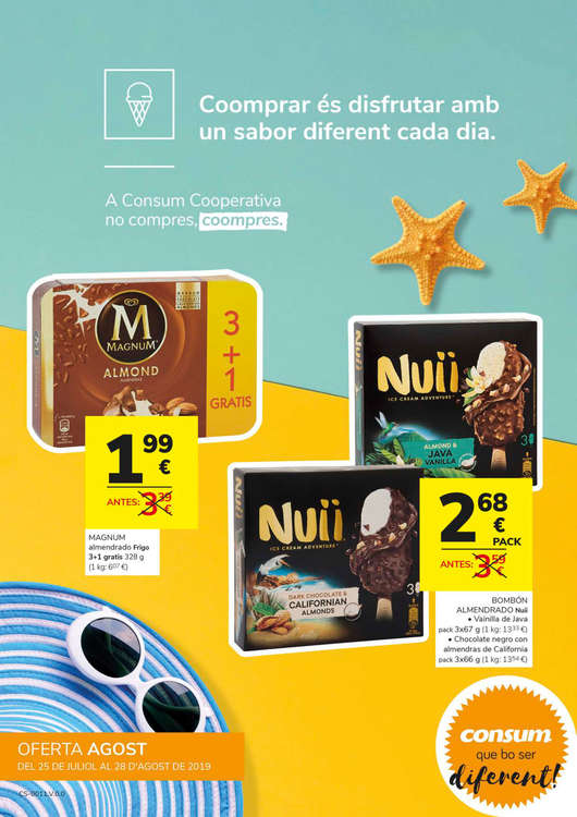 Consum Basic Picanya San Juan Bautista, 20 - Ofertas y horarios