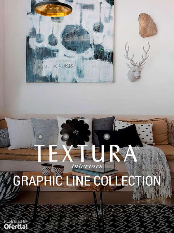 Ofertas de Textura, Graphic Line Collection