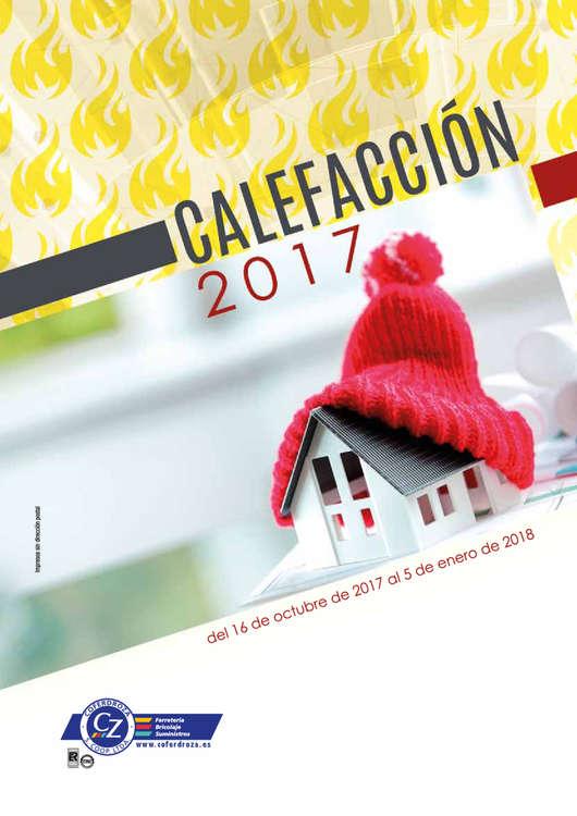 Ofertas de Coferdroza, Calefacción 2017