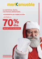 Ofertas de Merkamueble, Excedentes de fabricación -70%