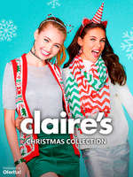 Ofertas de Claire's, Christmas Collection