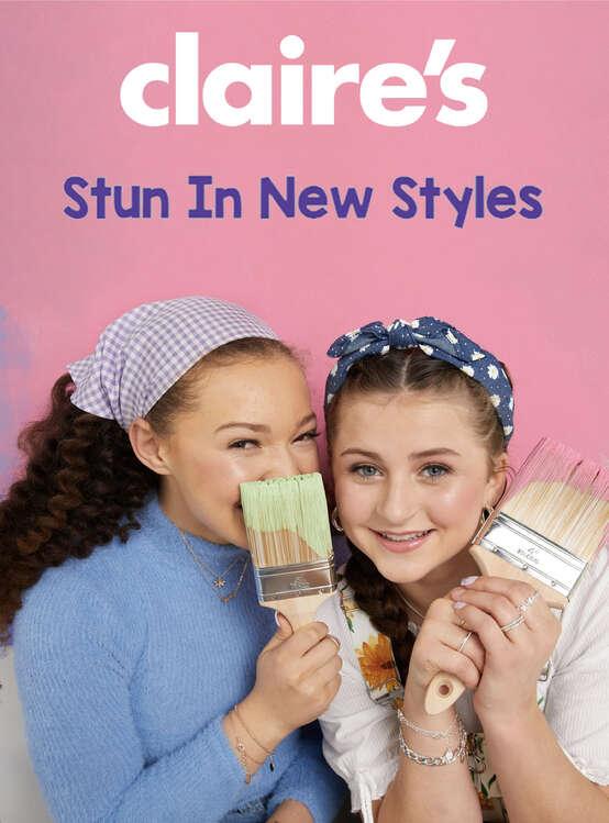 Ofertas de Claire's, Stun in new styles