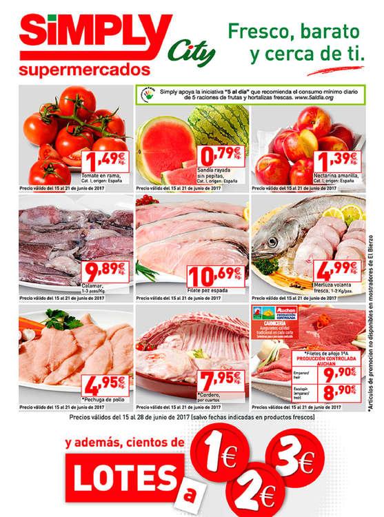 Ofertas de Simply, Lotes a 1, 2 y 3€