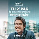 Ofertas de Alain Afflelou, Tu 2º par de gafas progresivas por 1€ más
