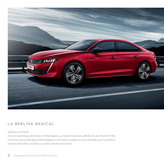 Ofertas de Peugeot, Nuevo Peugeot 508