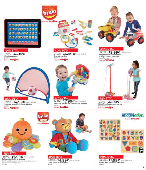 """Ofertas de Toys """"R"""" Us, ¡Cumplimos años!"""