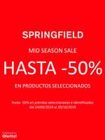 Ofertas de Springfield, Mid Season Sale hasta -50%