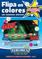 Ofertas de Euronics, Flipa en colores