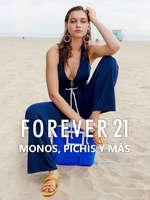 Ofertas de Forever 21, Monos, pichis y más