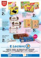 Ofertas de E. Leclerc, Helados