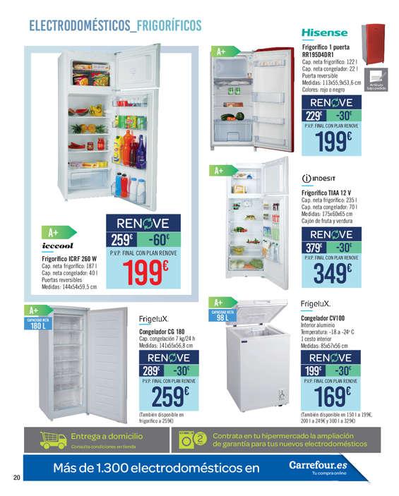 Comprar congelador barato en guilas ofertia for Hornos baratos en carrefour