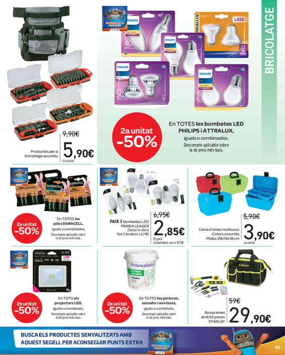 Ofertas de Carrefour, 2a unitat -50% en més de 3.000 articles