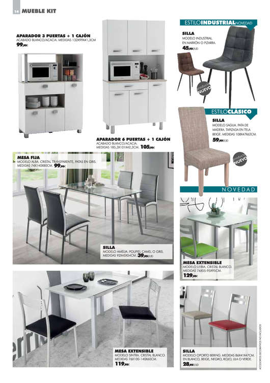 Comprar Muebles de comedor barato en Vilaboa - Ofertia