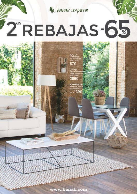Ofertas de Banak Importa, 2as REBAJAS - Madrid