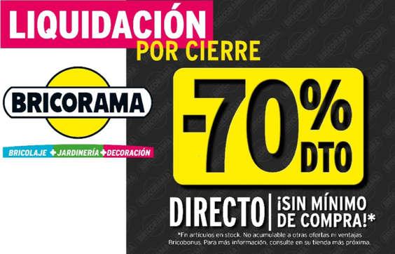 Ofertas de Bricorama, -70%