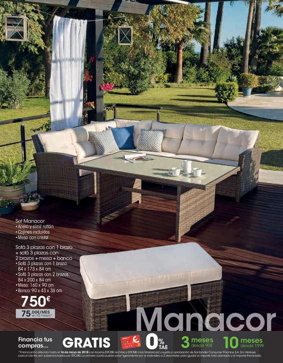 Comprar sof s barato en nerja ofertia - Eroski sillas terraza ...