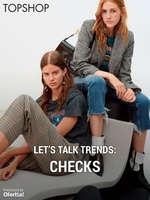 Ofertas de Topshop, Let's talk trends checks
