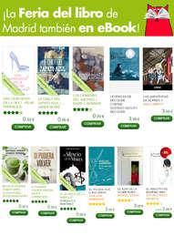 ¡La fiesta del libro de Madrid también en eBook!