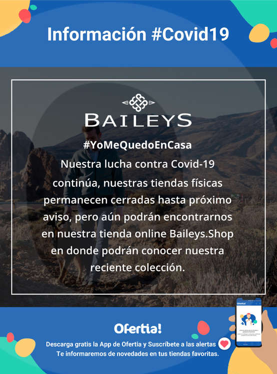 Ofertas de Baileys, #YoMeQuedoEnCasa #Covid19