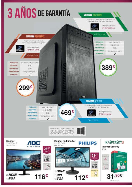 Ofertas de Infocoste, MR Micro - tu tienda de informática más cerca