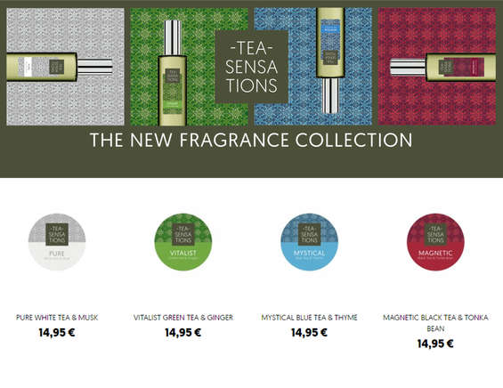 Ofertas de Equivalenza, The new fragance collection