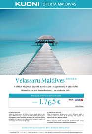 Oferta Maldivas