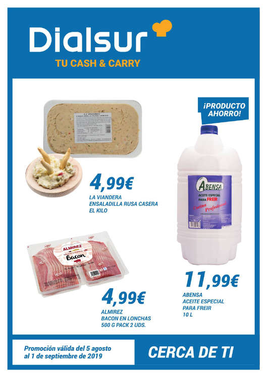 Ofertas de Cash&Carry Dialsur, Tu Cash & Carry
