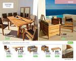 Ofertas de Leroy Merlin, Muebles y complementos de exterior - Colección 2017