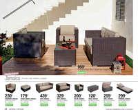 Muebles y complementos de exterior - Colección 2017