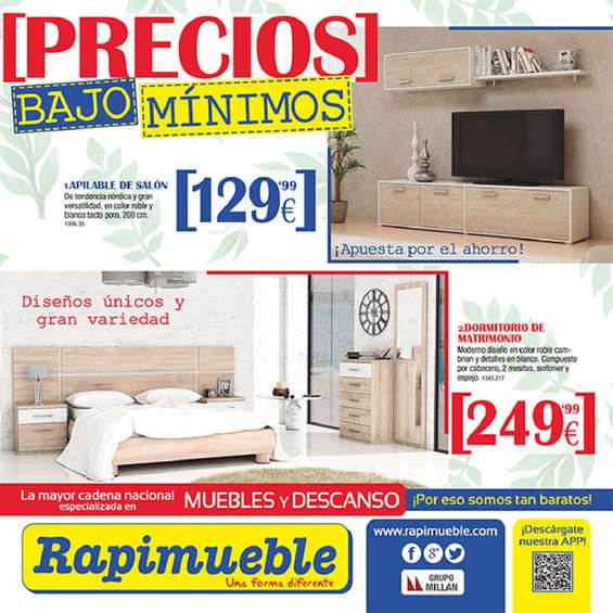 Rapimueble sevilla ofertas cat logo y folletos ofertia for Muebles rapimueble