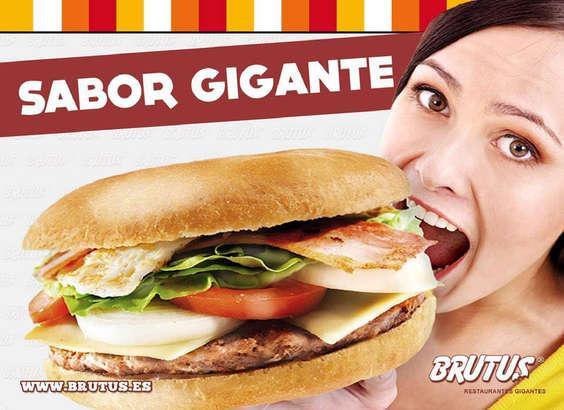 Ofertas de Brutus, Sabor Gigante