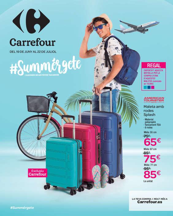 Ofertas de Carrefour, #Summérgete i gaudeix de les teves vacances